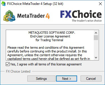Download MetaTrader4 (Zip) | FXChoice