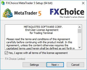 Download Metatrader5 Windows Fxchoice